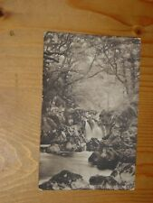 POSTCARD,   TORRENT FALL,  DOLGELLEY, WALES