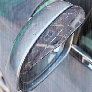 Rear View Mirror Rain Board x2 Car Reflector Eyebrow Guard Sun Visor Accessories