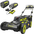20 In. 40-Volt Brushless Lithium-Ion Cordless Self-Propelled Walk Behind Mower W