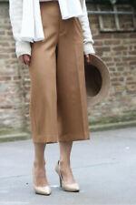 Zara Camel Culottes Size S M