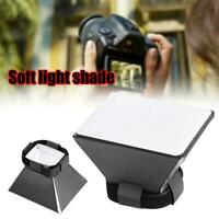 Mini Photography Softbox Flash Diffuser Box Kit For Canon Speedlite Useful H4Y7