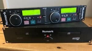 Numark CDN22 Mk4 Professional Dual CD Player With Numark DM950 Mixer And Leads