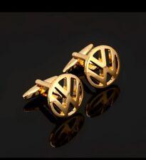 VW Gold Cufflinks Formal Business Wedding Gift for Suit Shirt