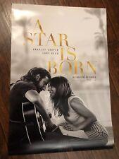 A STAR IS BORN MOVIE POSTER DS ORIGINAL FINAL 27x40 LADY GAGA BRADLEY COOPER