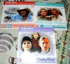 Daily Mail Promo DVD Rosamunde Pilcher x 3 Shell Seekers + Nancherrow + Coming H