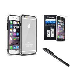 Étuis, housses et coques noir transparent iPhone 6 pour téléphone mobile et assistant personnel (PDA) Apple