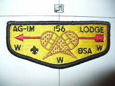 OA Ag Im Lodge 156,S-3,1970s FDL & BSA Flap, Hiawathaland,61,635 Kon Wapos,MI,WI