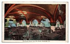 1929 Norse Room, Fort Pitt Hotel, Pittsburgh, PA Postcard *231