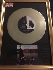 "Tears For Fears Mad World Platinum 7"" Vinyl Single Framed"