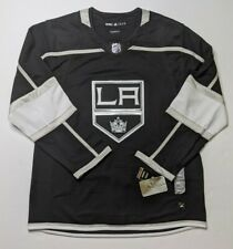 Los Angeles Kings Hockey ADIDAS Authentic NEW Climalite Jersey Fight Strap 52