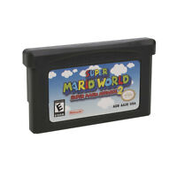 For Nintendo Game Boy Advance Super Mario Brothers 2 GBA Game Card Children