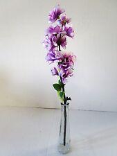 Artificial Purple/Cream Apple Blossom Pick Spray - 49cm - Fake Flowers