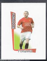 Merlin Football- 2008 Premier League Sticker No 371 - Wayne Rooney - Man Utd