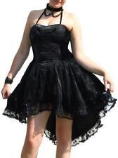 Damenkleider mit Bandeau aus Chiffon S