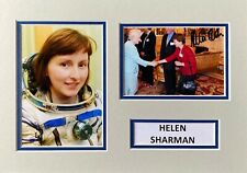 More details for helen sharman hand signed a4 photo mount display british astronaut autograph 4
