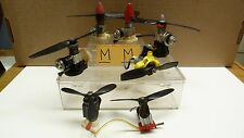 PRE OWNED 8PC RC/CL PLANE ENGINE MOTORS W/ PROPS AS IS BOX5-M