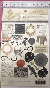 Anna Griffin Die Cut Embellishments ~ Endora Collection ~ 25pc ~ Halloween 2