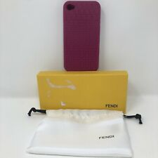 "Fendi ""FF"" iPhone 4/4s Cover in Hot Pink"