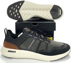 Cole Haan Zerogrand Outpace Runner Shoes Black Pavement C32103 Men 10.5, 11.5