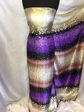 New Beautiful High Class Multi-colour Polka Dot Silky Satin Fabric 57'' 146 cm