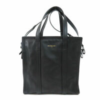BALENCIAGA  443096 Tote Bag Bazaar shopper S Lambskin