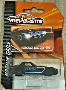 2017 MAJORETTE RACING CARS - MERCEDES BENZ SLS AMG - NEW ON CARD - #2326-1