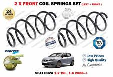 FOR SEAT IBIZA 1.2 TSI ST 1.6 2008--> NEW 2 X FRONT LEFT RIGHT COIL SPRINGS SET