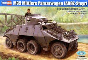 Hobbyboss 1:35 M35 Mittlere Panzerwagen (ADGZ-Steyr) Armoured Car Model Kit