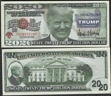 Donald Trump 2020 Presidential Dollar Bill -  BUY 2 GET 4 FREE!!! USA SELLER