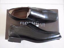 BN  Florsheim- Men's Black Angus Leather Slip On Shoe - Size : US 8.5-UK 7.5