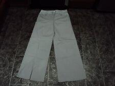 M & S Autograph Weekend Ladies Cotton Trousers, Size Uk 12 Long