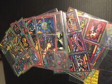 1993 Marvel Trading Cards by Skybox in Plastic Sleeves - 145 +1 bonus card