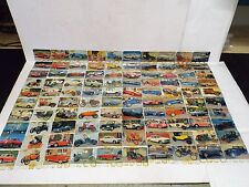 COOP FRENCH ADVERTISING METAL PLATES THE AUTO COLLECTION 1960s FULL SET  (AM200)