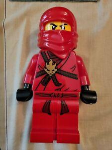 Lego Red Lao Ninjago 13.5 inch Coin Bank Figure - Piggy Bank -