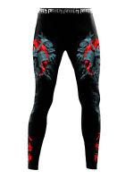 Raven Fightwear Men's Hachiman Spats MMA BJJ Black