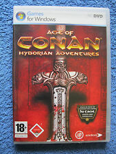 PC DVD ROM juego Age of Conan: Hyborian Adventures (dt.) (PC, 2008) USK 18