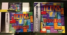 TETRIS WORLD'S GAMEBOY ADVANCE GBA 💯% COMPLETE AUTHENTIC ORIGINAL MANUFACTURER