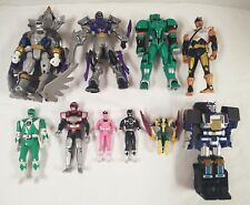 Lot of 10 Power Rangers Bandai, Saban & Kenner
