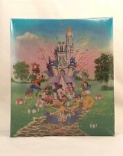 NEW Walt Disney World Photo Album 30th Anniversary Mickey Minnie Castle Donald