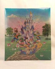 NEW Walt Disney World Photo Album 30th Anniversary Mickey Minnie Castle Donald