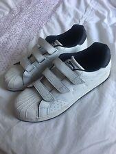 Slazenger White Leather rainers Size UK 6.5