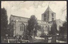 Sussex. Arundel The Parish Church. 1923 Posted Card. Photo by Allison of Arundel