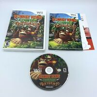 Donkey Kong Country Returns (Nintendo Wii, 2010) Complete With Manual CIB