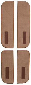 1987-1989 GMC R2500 Crew Cab Door Panels on Cardboard w Vent Cutpile Carpet