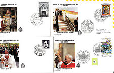 Vatican  Jean Paul II  FDC&/or max card  div lot II   291