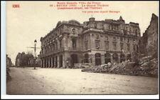 REIMS 1. WK ~ 1914/18 CPA Ville du Front Theater Rue Weltkrieg Militaria