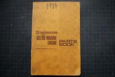 CAT Caterpillar D379B Marine Engine Parts Manual Book catalog boat motor spare