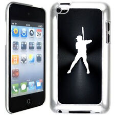 Black Apple iPod Touch 4th Generation Hard Case Cover B942 Baseball Player