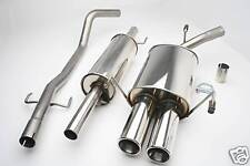 NEW CORSA C STAINLESS STEEL EXHAUST SYSTEMS