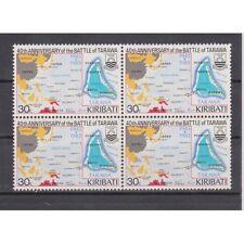 Kiribati Mnh block of 4 scott #432 Battle Maps